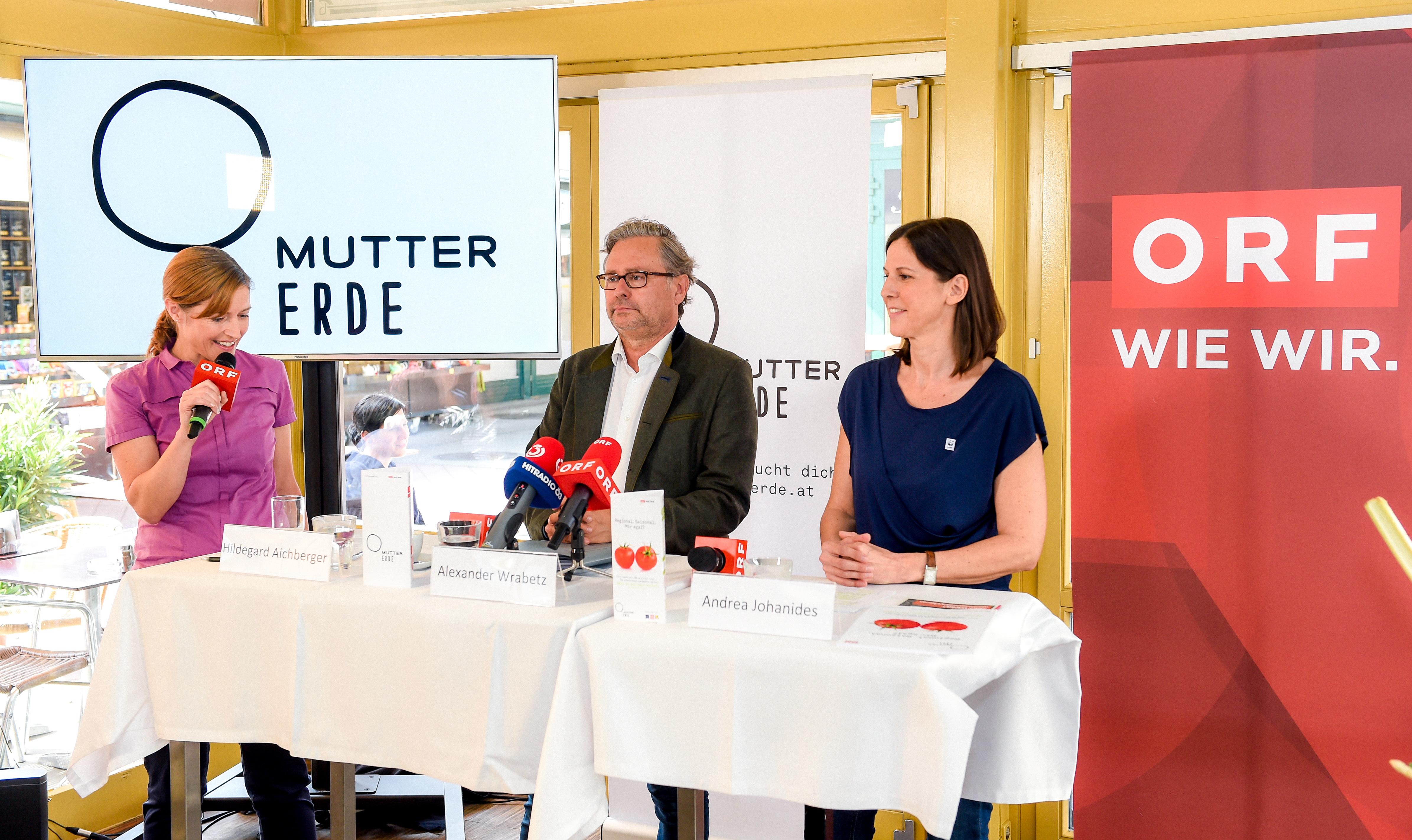 ORF/MUTTER-ERDE-Schwerpunkt: ?Schau, wo dein Essen herkommt!?