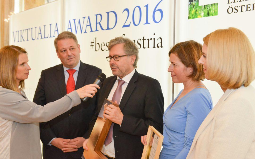 MUTTER ERDE mit  VIKTUALIA Award 2016 ausgezeichnet