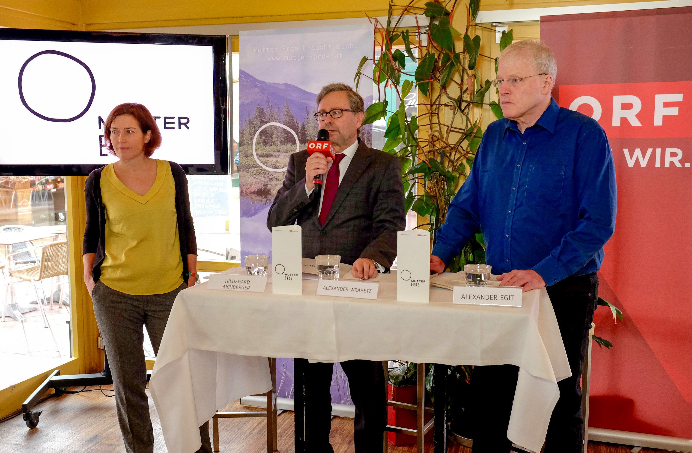 PK Essen verschwenden ist Mist: ORF MUTTER ERDE startet neuen Schwerpunkt zu Lebensmittelverschwendung