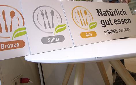 Wien's neues Biogütesiegel für Lokale